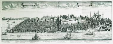 Άποψη της Βοσπόριας Άκρας από τον Γαλατά.