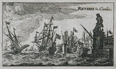 Το λιμάνι του Ρεθύμνου.
