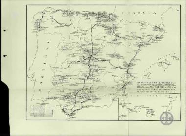 Desumen de las Construcciones hechas por la Compania Telefonica Nacional de Espana Hasta 31 de Diciembre de 1927 y su Relacion con el Compromiso Contraido con el Estado para Los Cinco Primeros Anos.