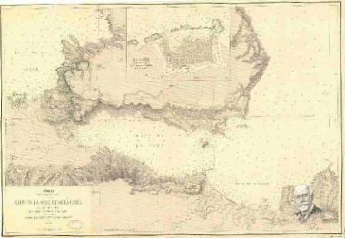 Archipel. Ile de Crete ou Candie: Baies de la Sude et la Canee