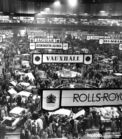 Earl's Court Motor Show 1957