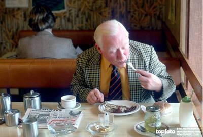 Scottish breakfast of Arbroath smokies