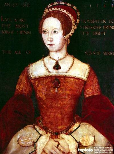 Queen Mary, Tudor