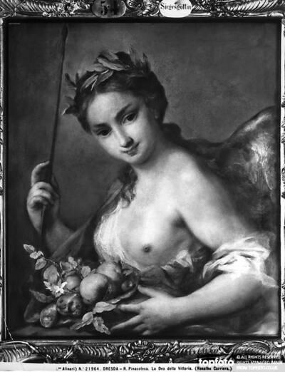 Female figure depicting the Goddess
