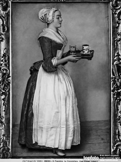 Young lady dressed as a