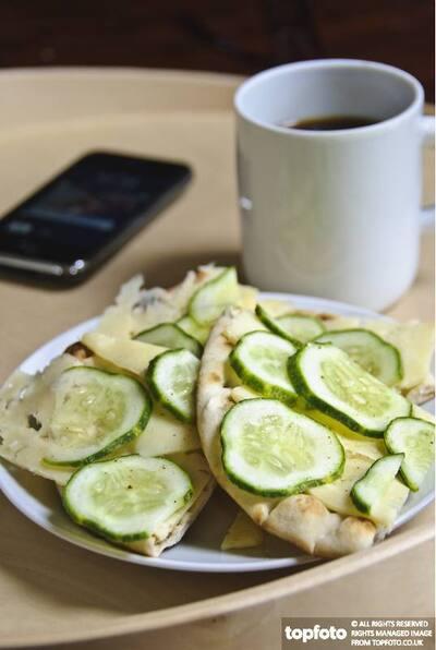 Swedish cheese sandwich