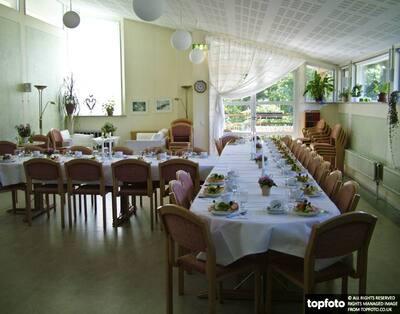 Attractive church hall in Lerum,