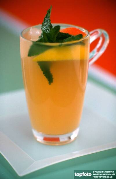Minted drink