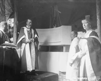 King George V at LSE