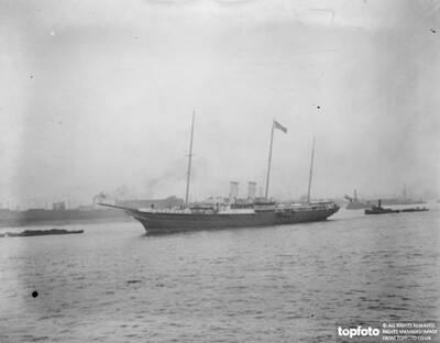 The Royal Yacht ' Alexandra