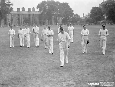 The Fusiliers cricketers