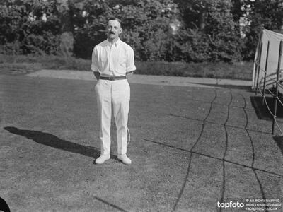 A R F Kingscots , Tennis player