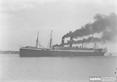 ' Kroone Belle ' Steamship