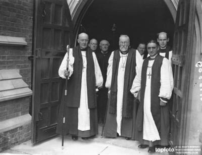 Three Bishops at the dedication