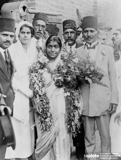 Gandhi 's woman disciple in