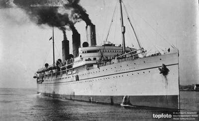 British steamer in dramatic collision._x000D_ The