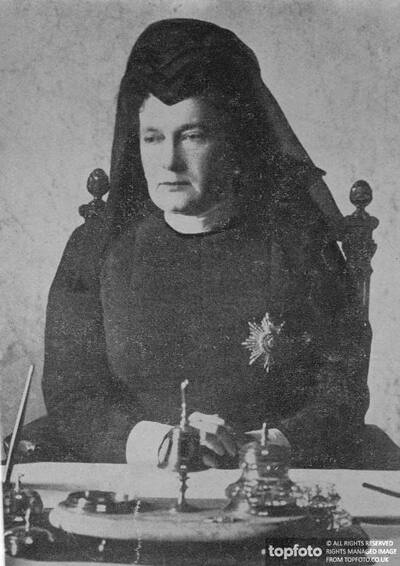 The Dowager Empress of Russia