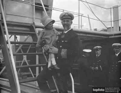 Captain Mill of SS London Belle