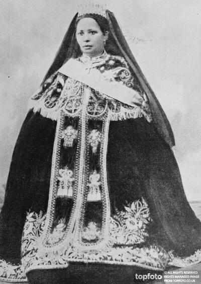 The Empress Zauditu _x000D_ Ruler of