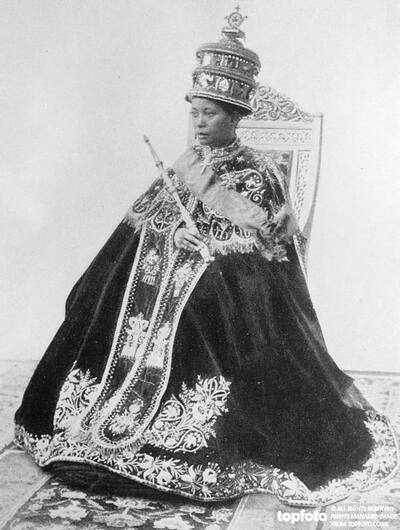 Ruler of Ethopia _x000D_ The Empress