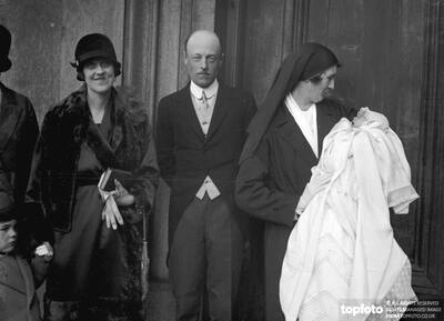 Christening ._x000D_ The christening of the