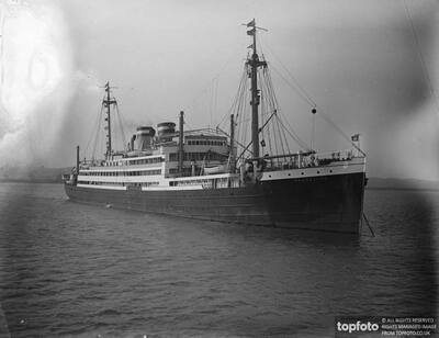 Hamburg - Amerika liner motor