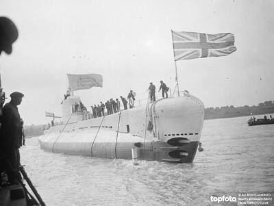 Royal Navy submarine , HMS