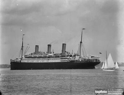 SS Empress of Australia in