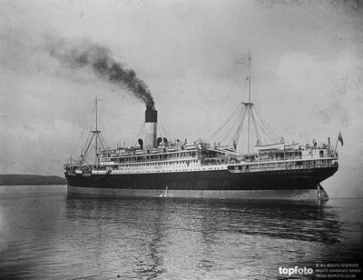 The ill fated steamship ,