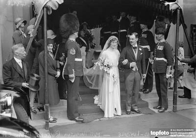 Wedding at the Guards Chapel