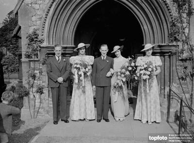 Wedding of A Newman Goss