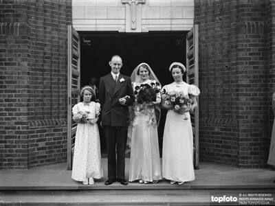 The wedding of J Houlgate