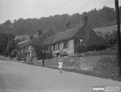 Old cottages in Wrotham ,