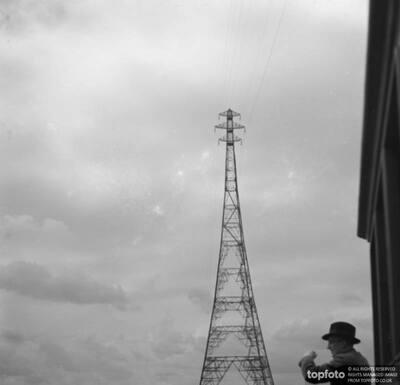 An electricity pylon ._x000D_ 1936