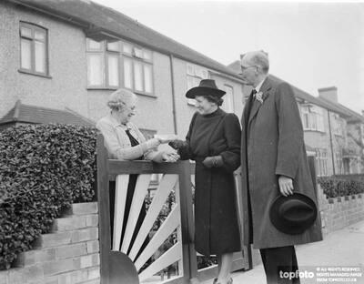 Mrs Godfrey Mitchell the Conservative