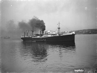 The SS ' Pacific Shipper