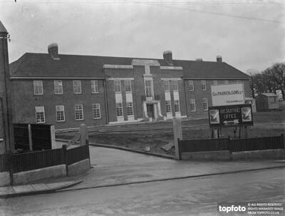 Bexleyheath territorials headquarters . _x000D_ 1939