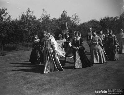 A Tudor pagaent in Westerham