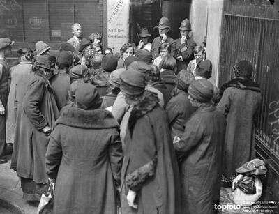 Covent Garden , pea shellers
