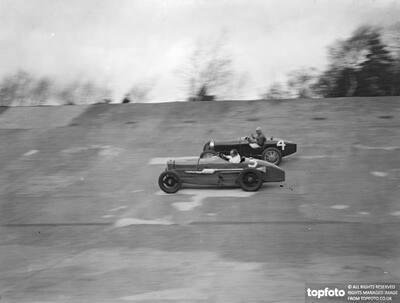 A close race at Brooklands