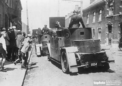 Serious rioting in Belgian coal