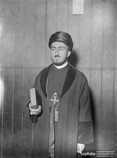 Exiled Patriarch of Assyrians in