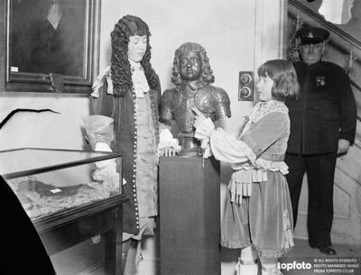 Bust of Charles II as