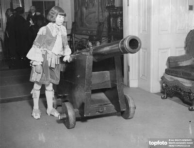 Gun left by King Charles