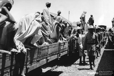 Abyssinian troops rushed to Somaliland