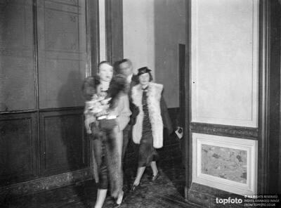 Douglas Fairbanks and Lady Ashley