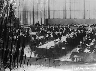 League committee of eighteen meets