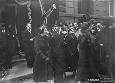 Funeral of M Venizelos in