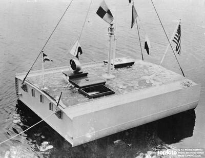 Ship made of Aluminium launched