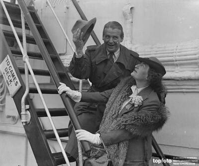 Constance Collier returns from America